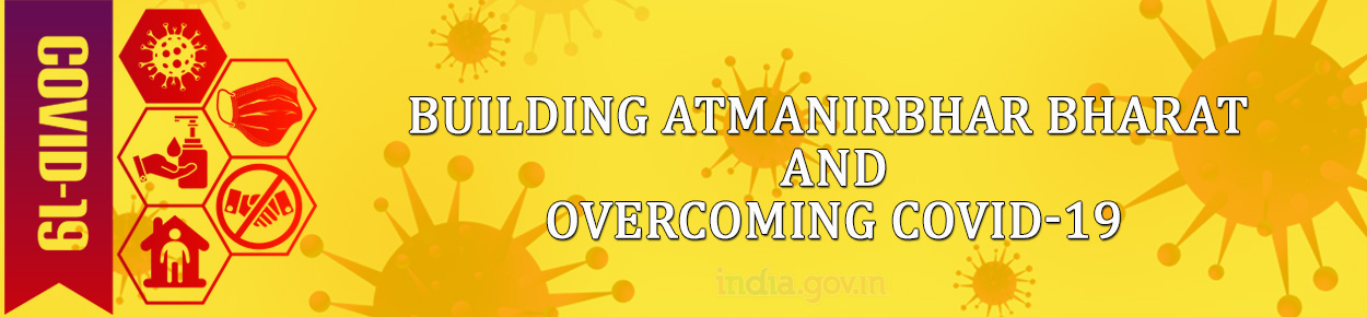 FBuilding Atmanirbhar Bharat and Overcoming COVID-19