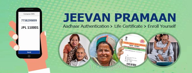 Jeevan Pramaan service is Digital Life certificate for pensioners